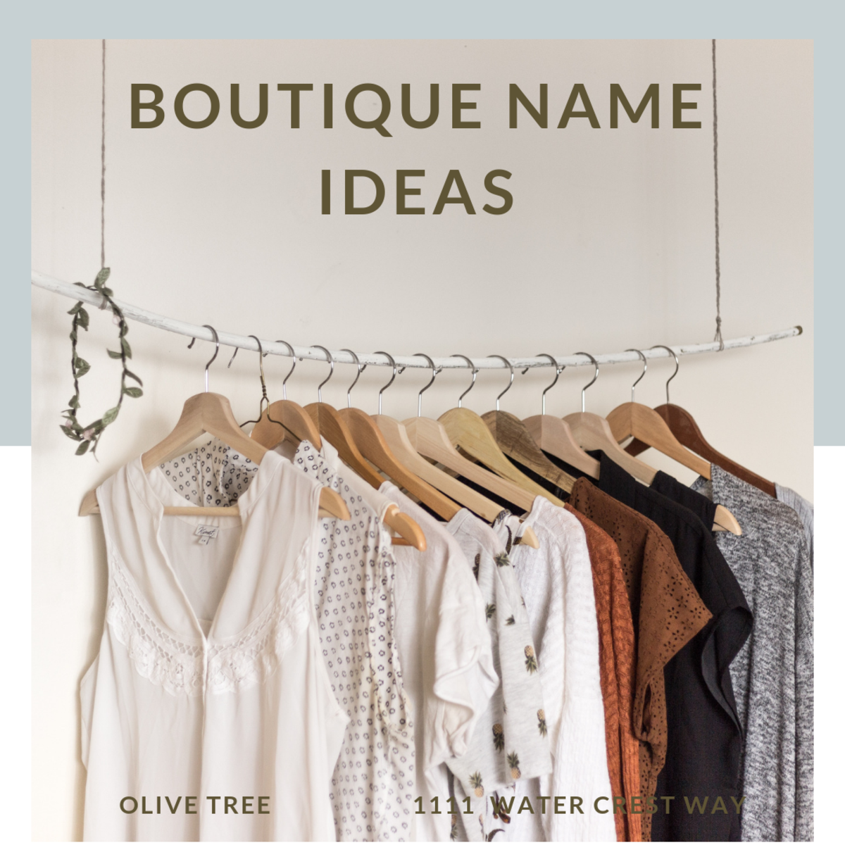 Use these tips and name ideas to create the perfect, brand or boutique name for your new business.