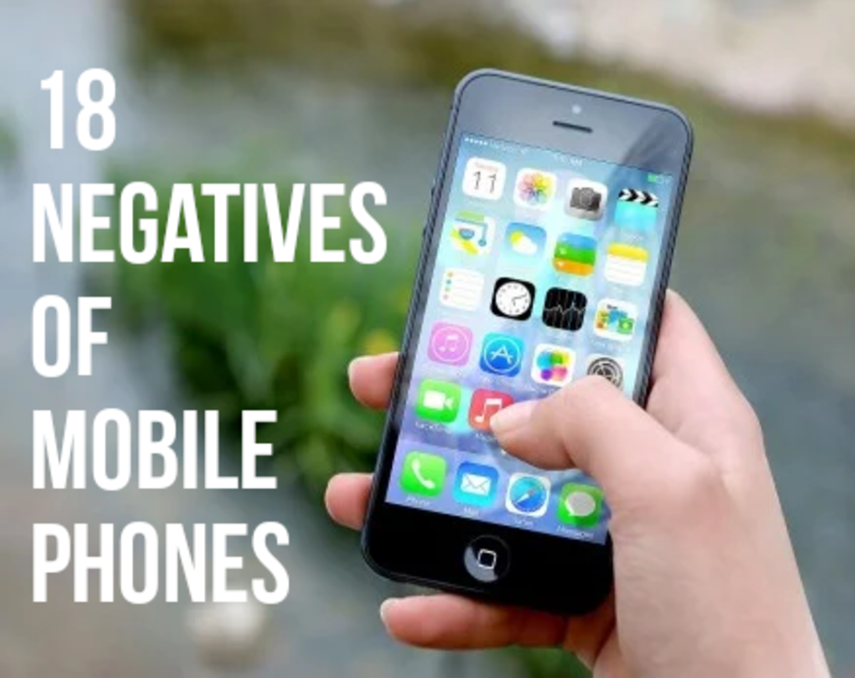 18 Disadvantages of Mobile Phones