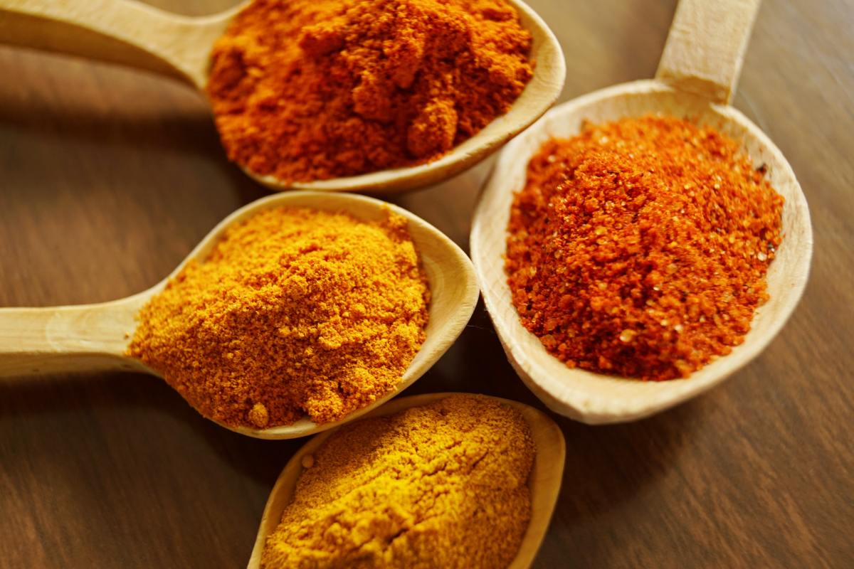 There are many different masala spice powders in Indian cuisine.
