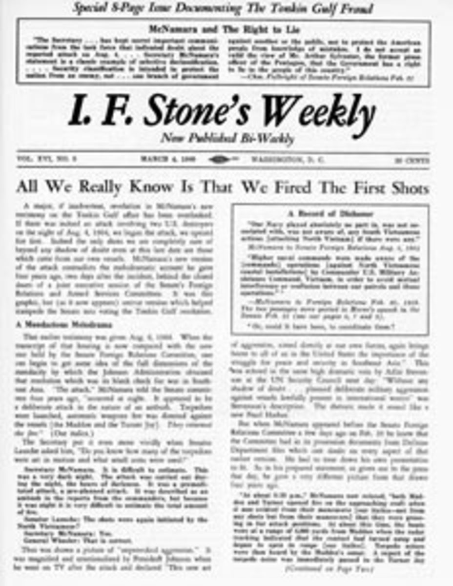 Izzy Stone: Progressive American Journalist