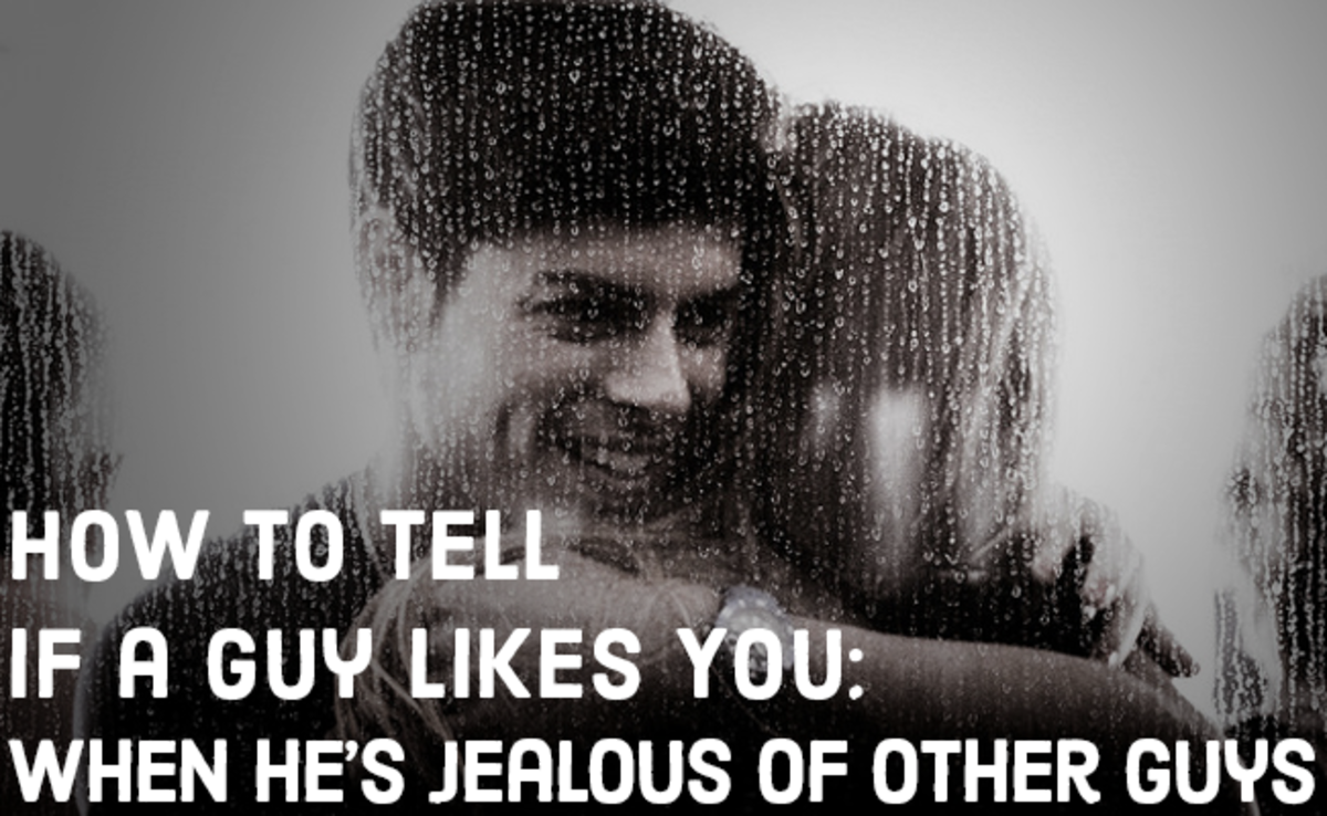 Signs a guy is jealous and likes you