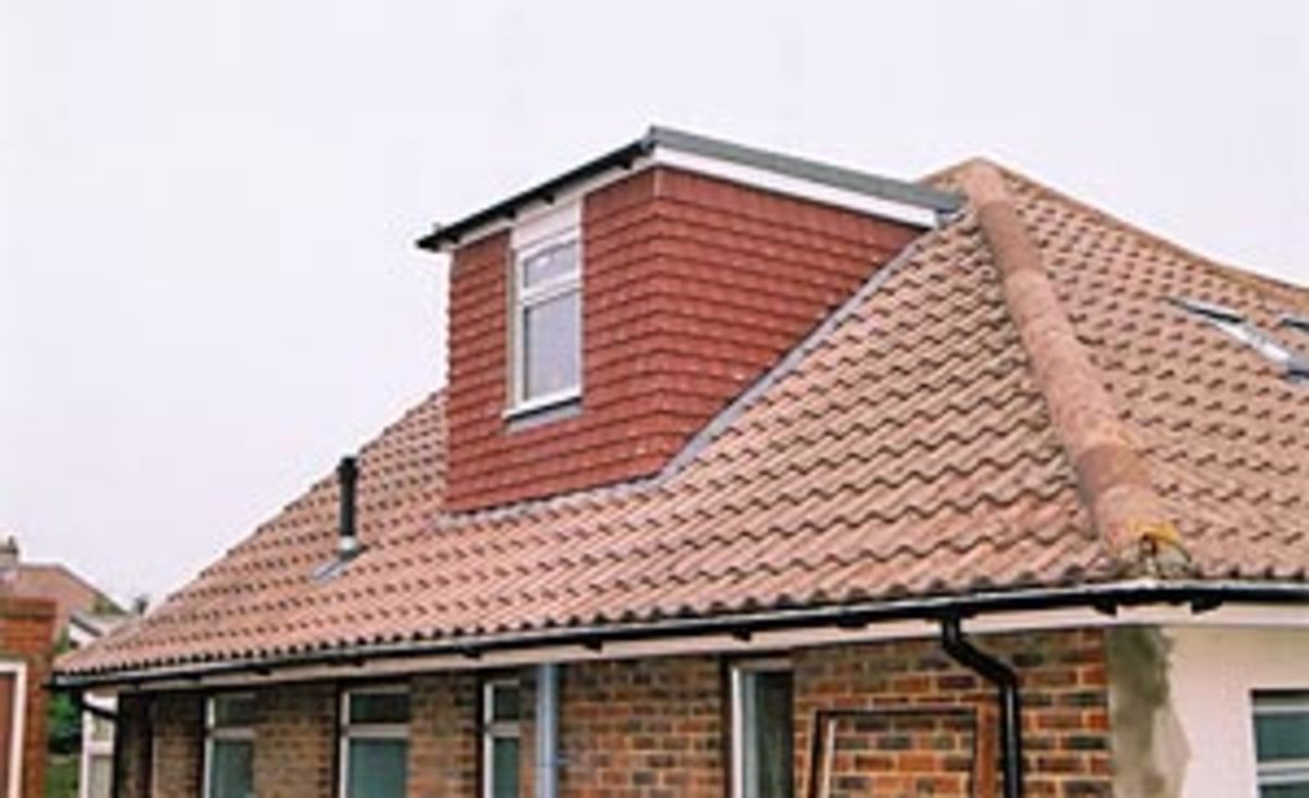 Hipped Roof With A Dormer