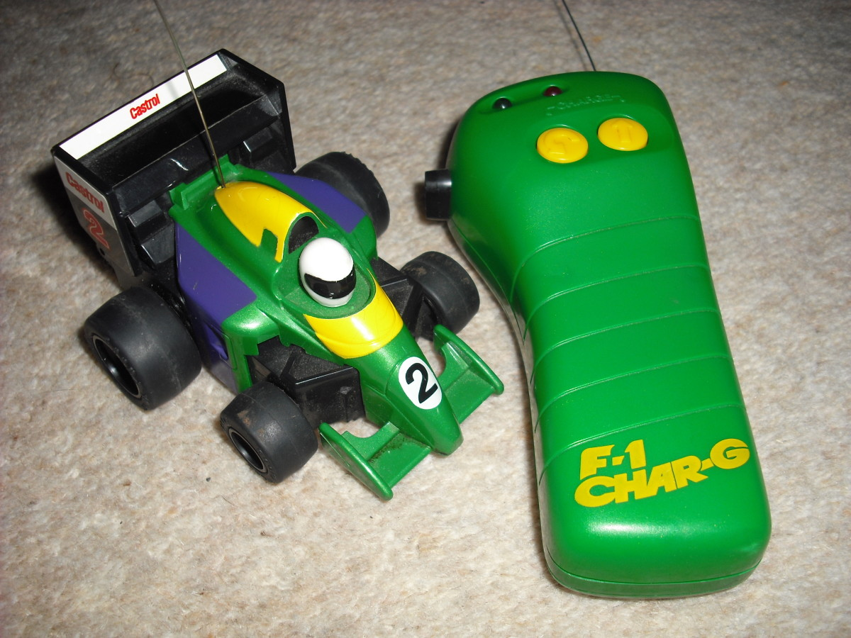 Tomy Char-G RC Car : 90's Classic Kids Toy!