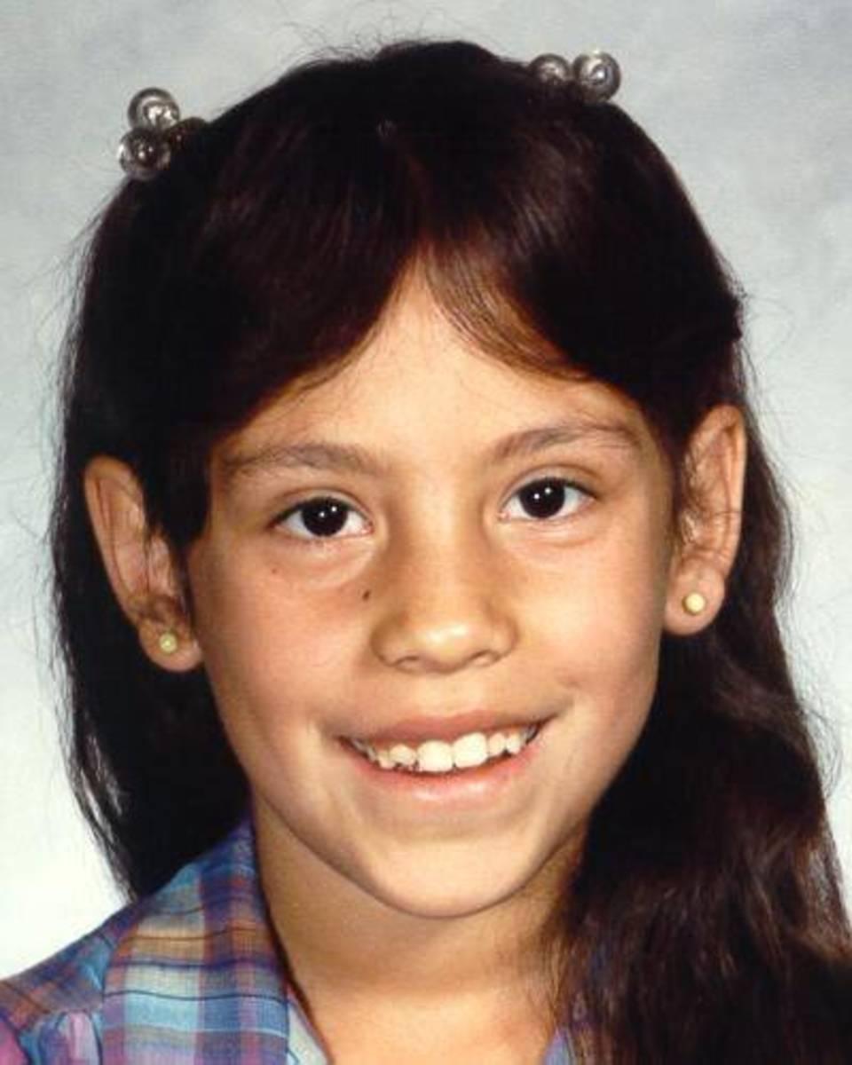 Anthonette Cayedito at age 9, circa 1986