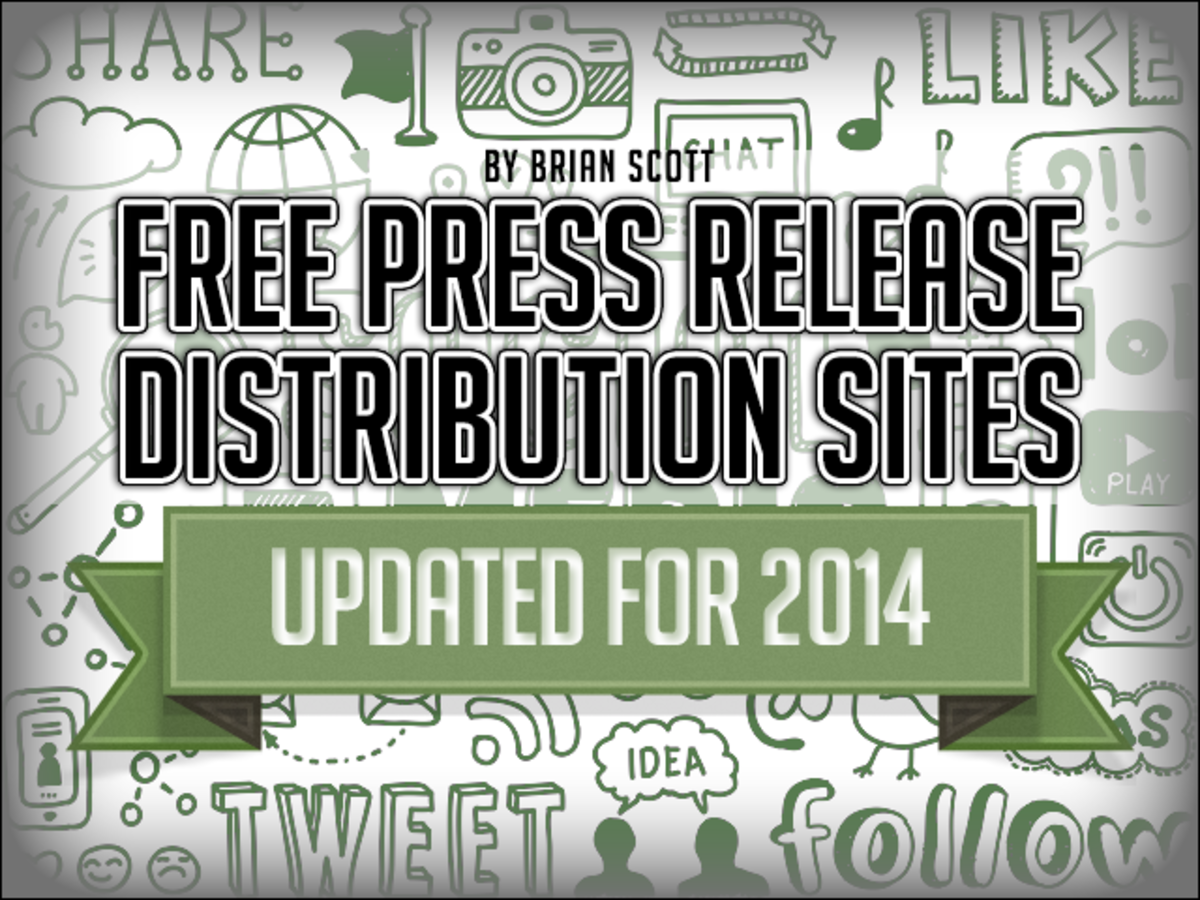 Free Press Release Distribution Sites (for 2014)