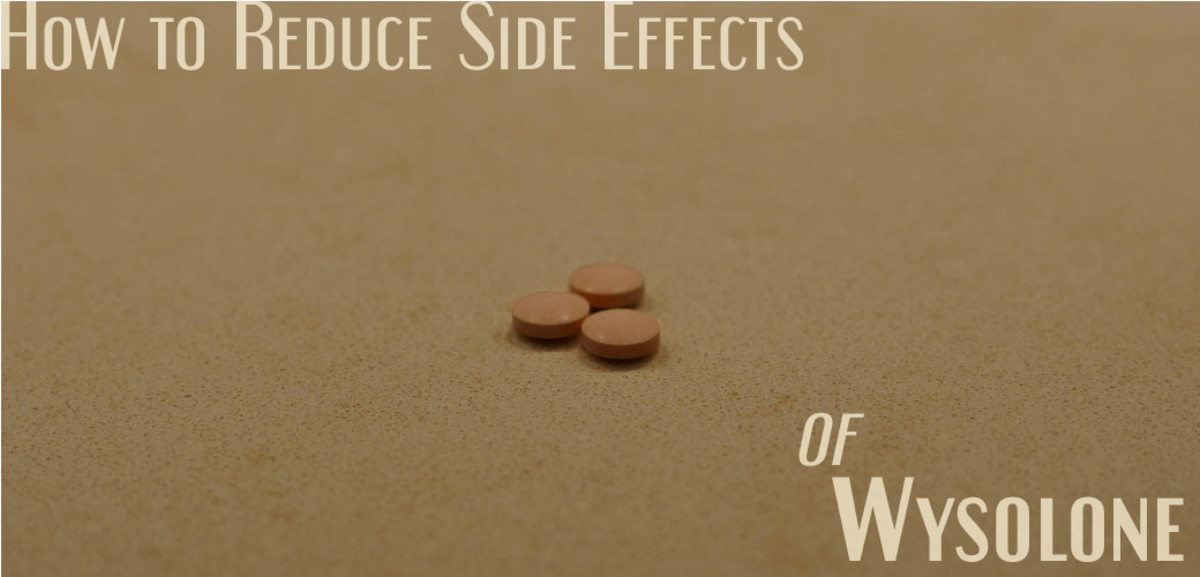 How to Reduce the Side Effects of Wysolone (Steroids)