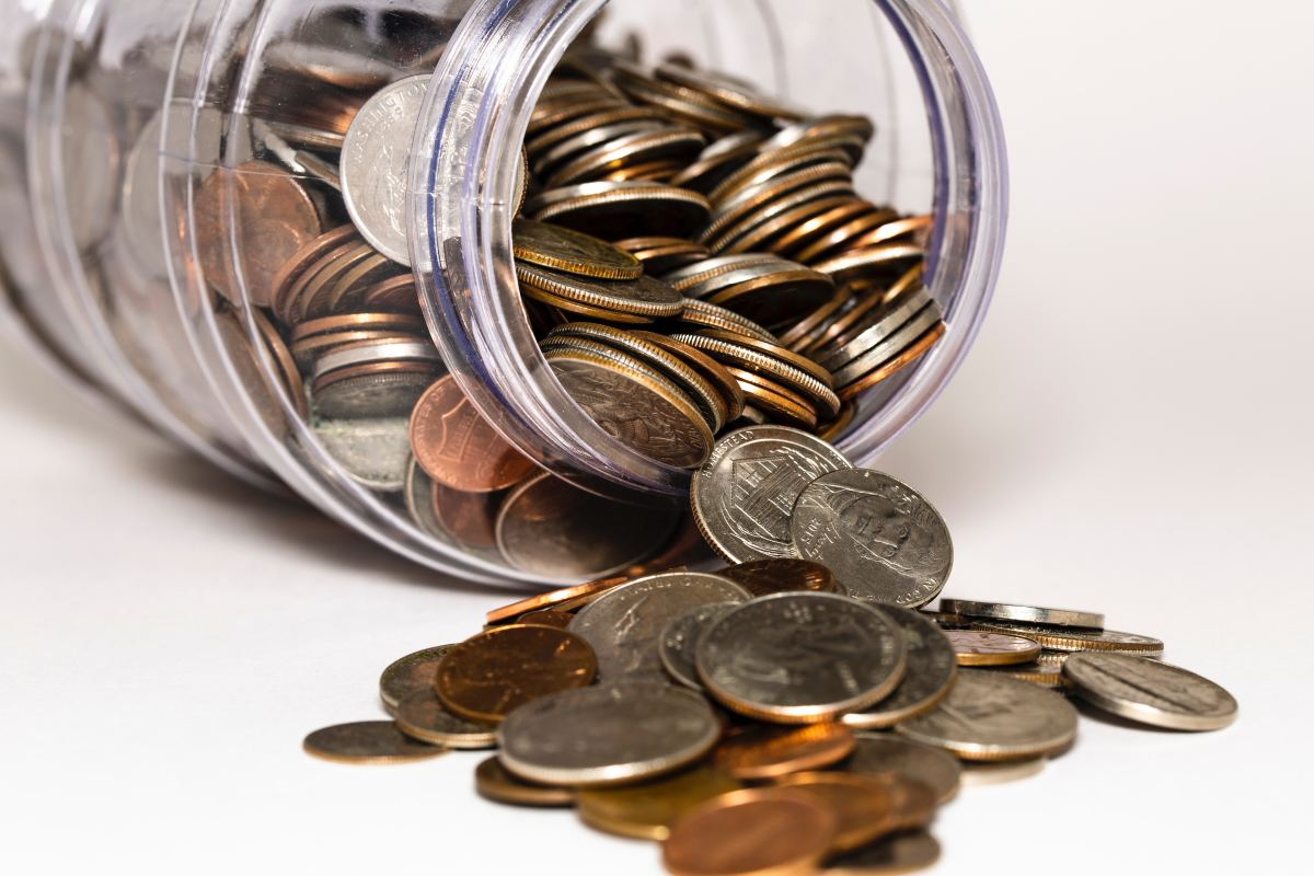 With patience, your pennies and cents can quickly add up to dollars.