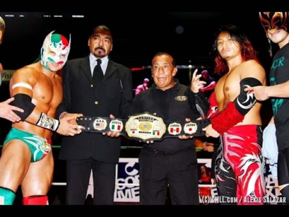 Dragon Lee vs. Kamaitachi: A Rivalry Ranked