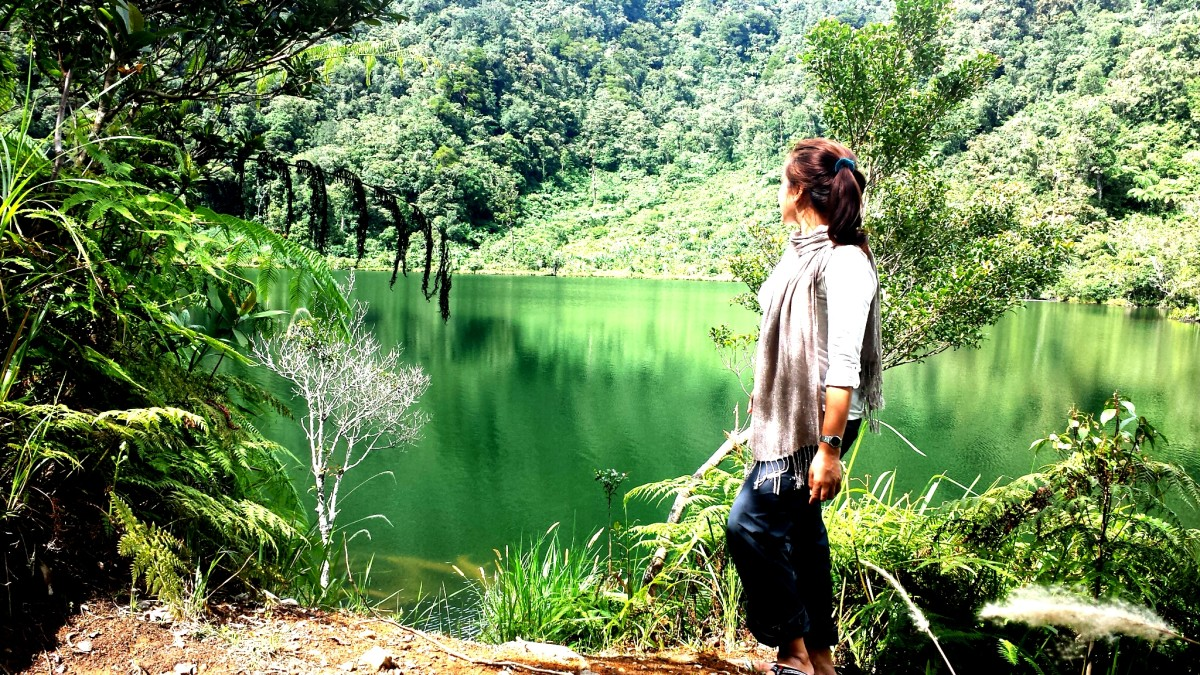 The Simple Life in the Crater Lake of Mt. Malindang