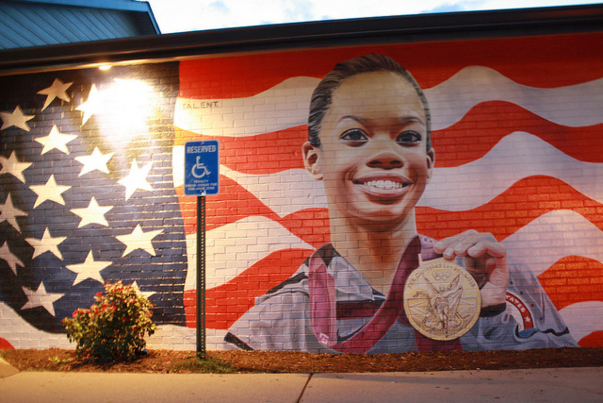 After winning Olympic gold in 2012, Gabby Douglas suddenly saw her likeness everywhere. She became an American hero when she placed first in the individual all-around competition, and also helped lead Team USA to gold in the team competition.