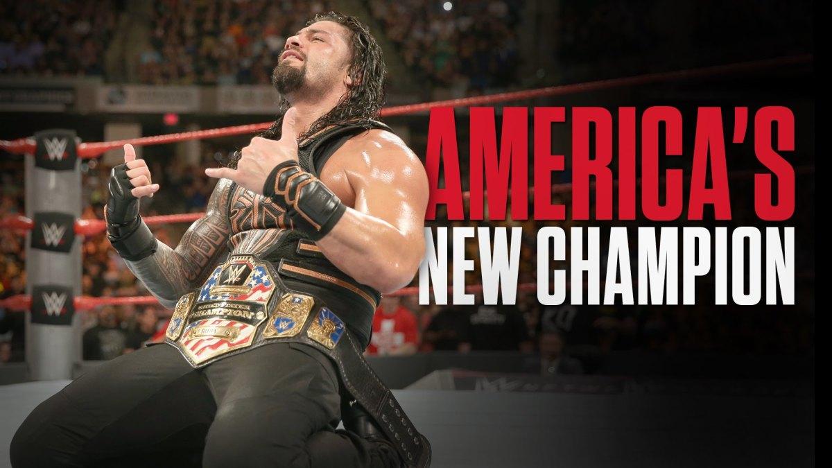 Current U.S. Champion Roman Reigns