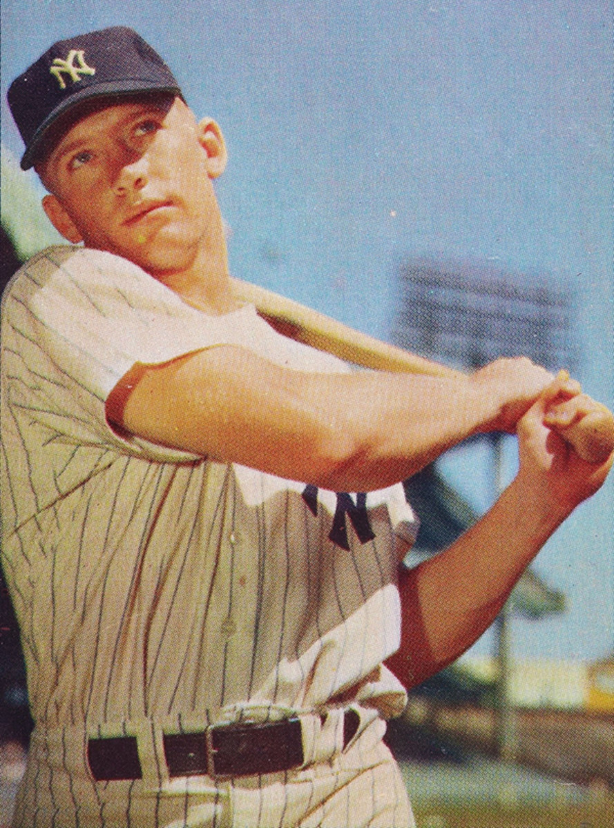"Mickey Mantle's 1953 homer in Washington gave rise to the term ""tape-measure homer."""