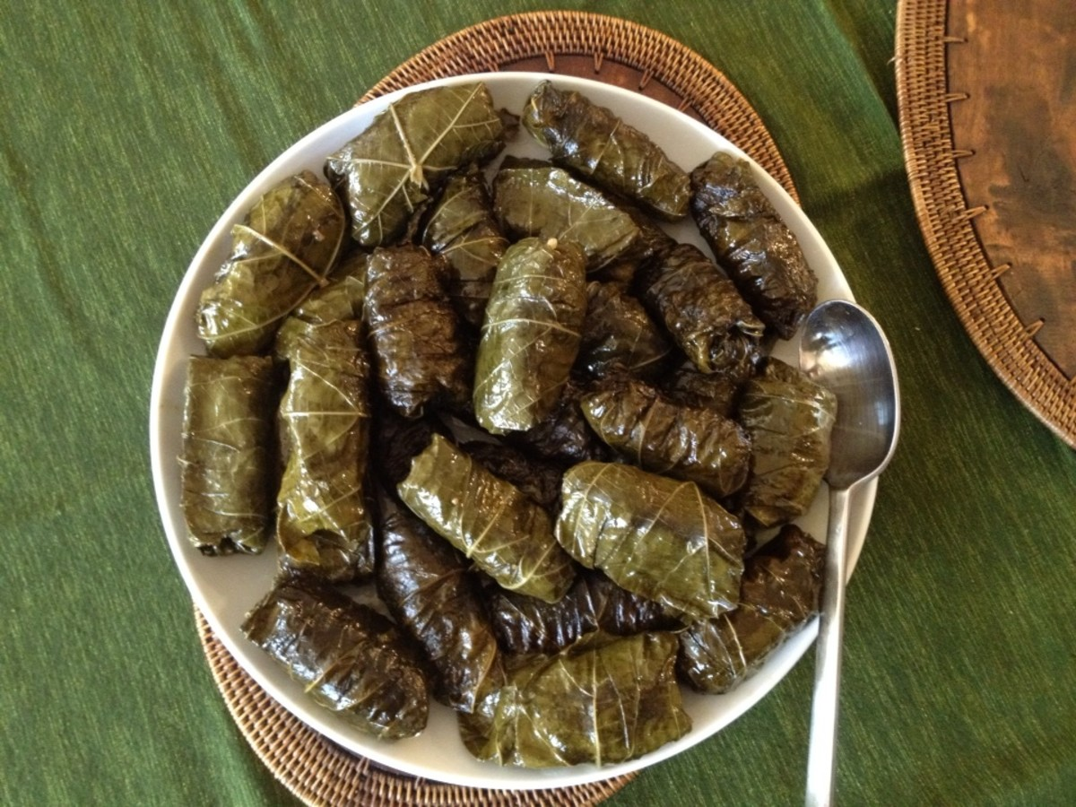 My mom's Easter sarma.