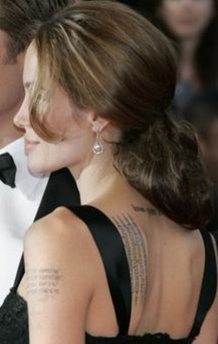 Taboo Tattoos Show - Focus Fashion Such as how Angelina Jolie makes her
