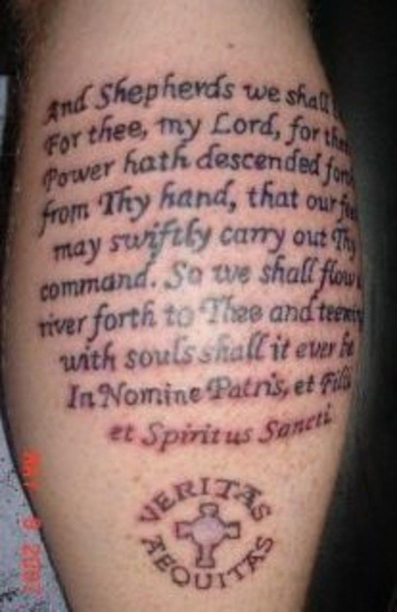 idei-dlya-tatuirovok - Татуировка Идеи: Религиозные Символы -  - фото