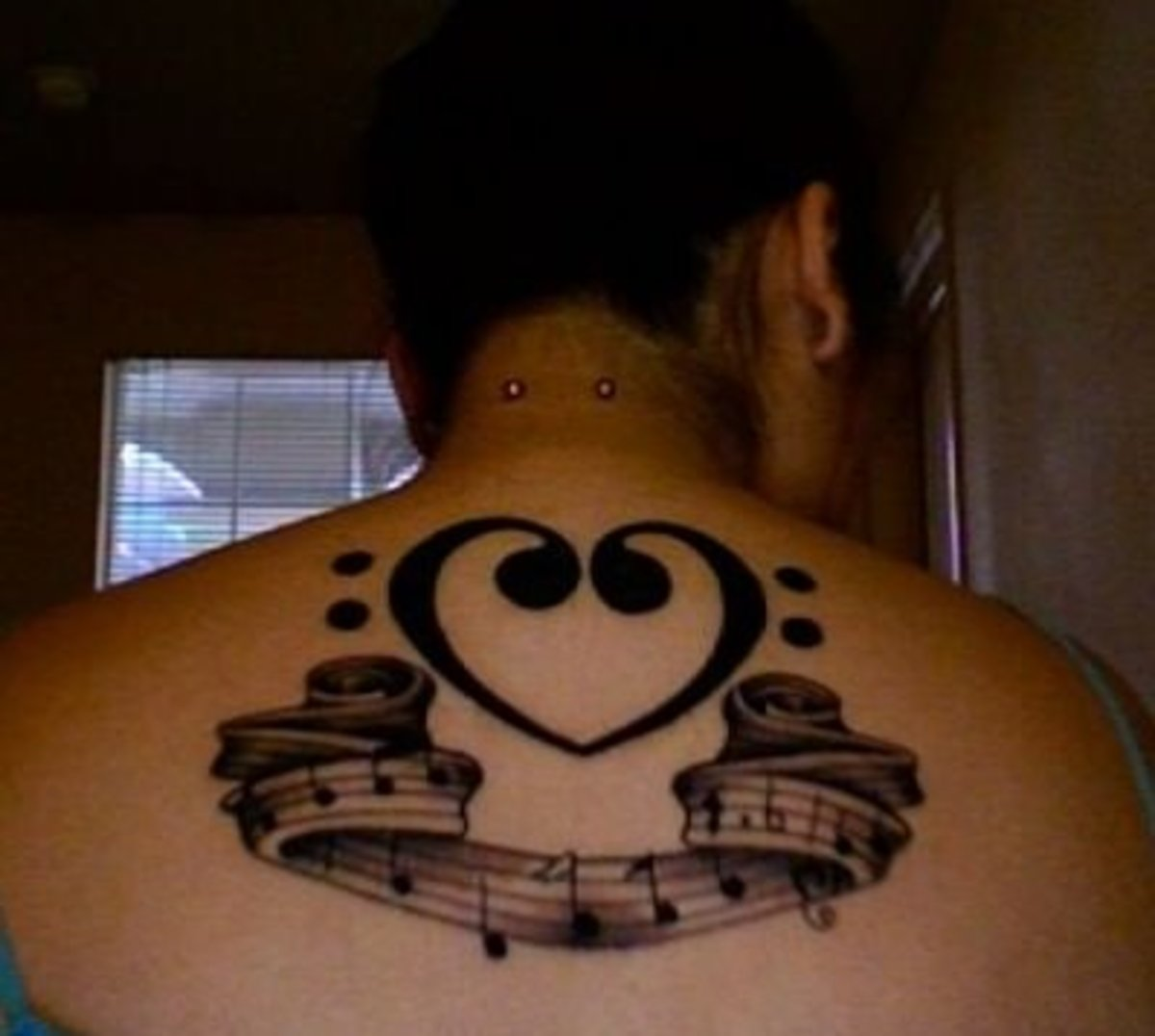 idei-dlya-tatuirovok - Идеи Татуировки: Музыка + Полосы -  - фото