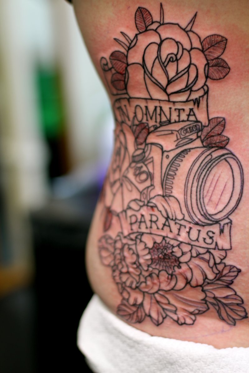 """In omnia paratus"" Tattoo—Ready for Anything (or Prepared for Everything)"