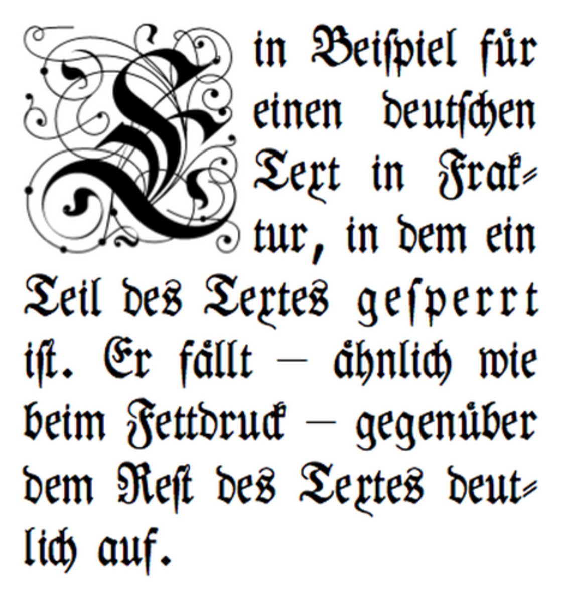 This font is sperrsatz, which is German, but has an antique feel. You could really go crazy designing ornate letters for your tattoo.