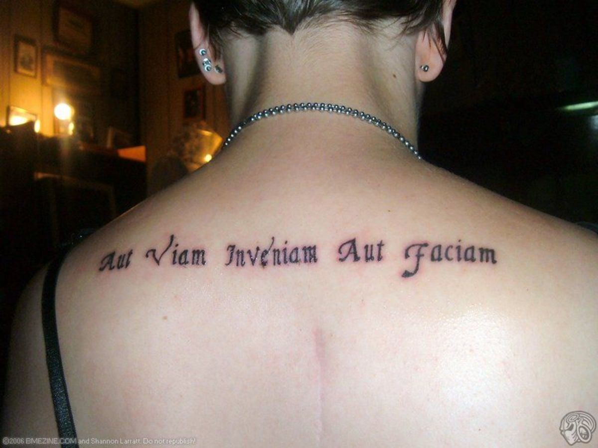"Aut viam inveniam aut faciam: ""I shall either find a way or make one.""  (The first ""aut"" can be omitted here and still retain sense.)"