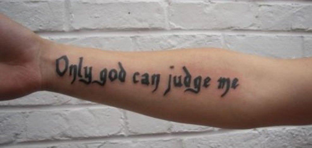 Tattoo Ideas Quotes On Religions God Faith Tatring