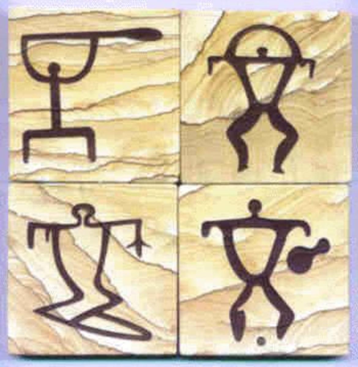 Hawaiian Petroglyph Symbols