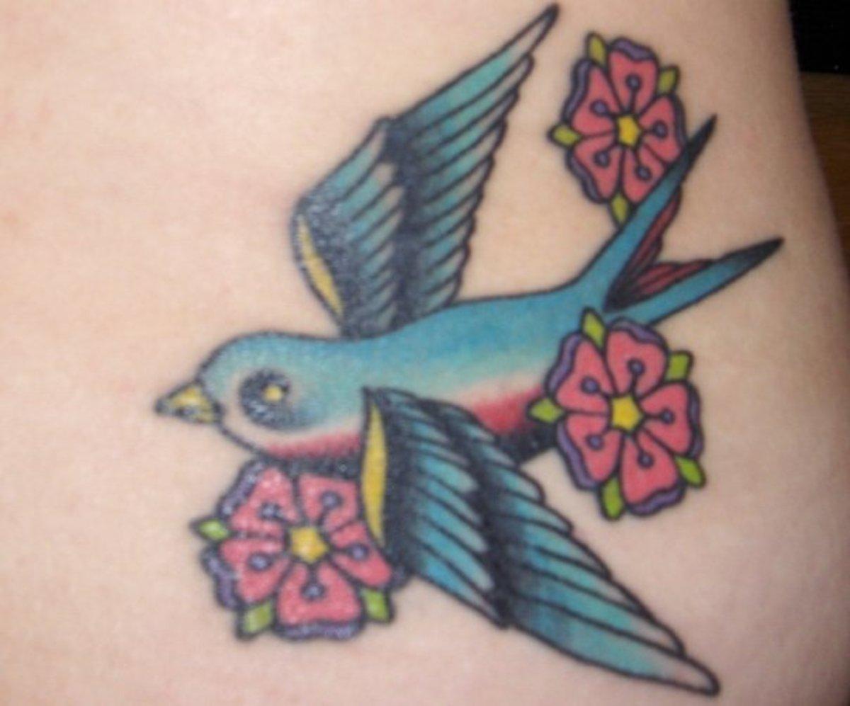 Tattoo #4 healed