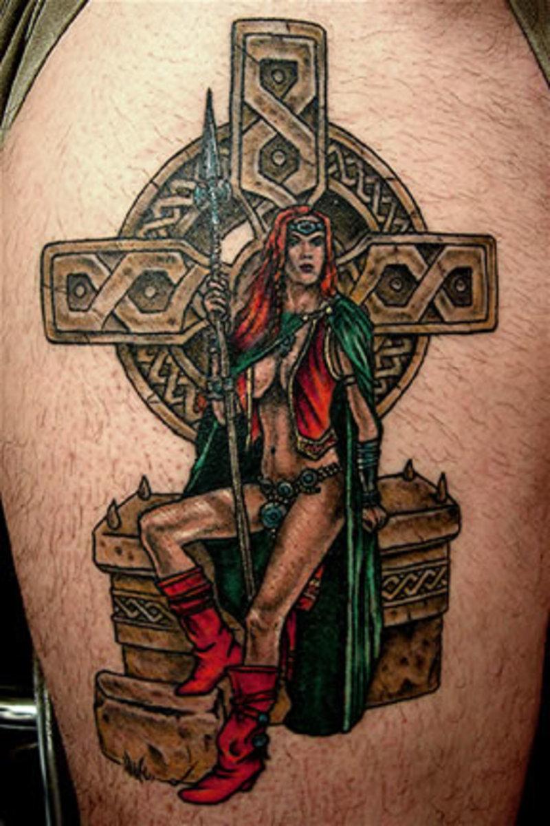 Celtic Mythology Tattoo Celtic Princess Tattoo