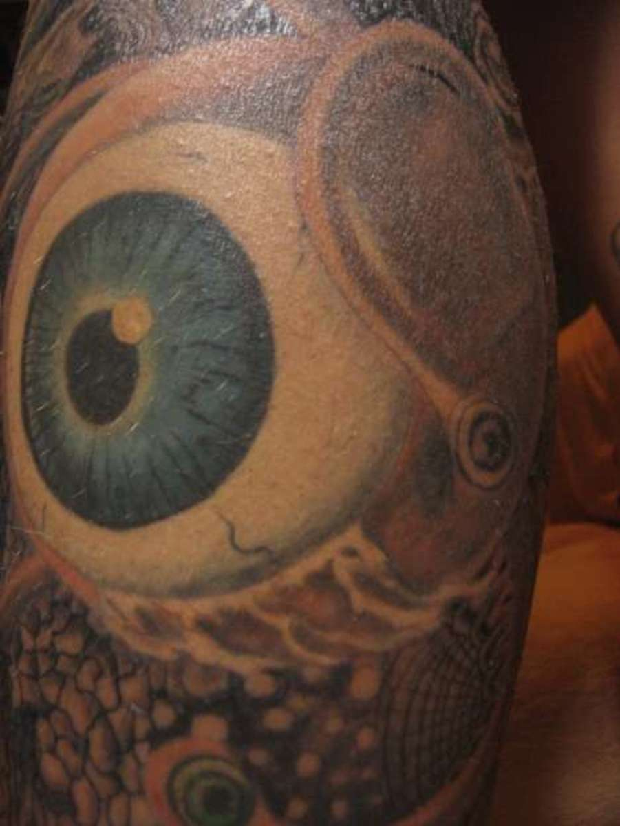 Eye Tattoo from Clockwork Orange