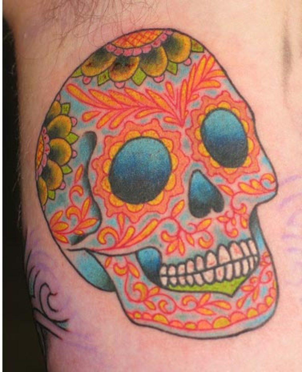 idei-dlya-tatuirovok - Значение татуировки череп и череп татуировки картинки -  - фото