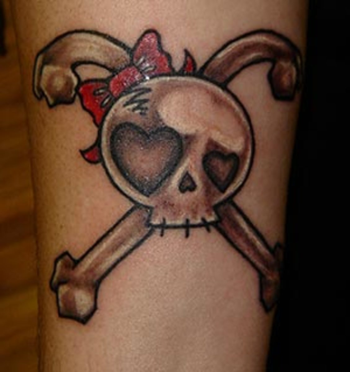 cute skull tattoo