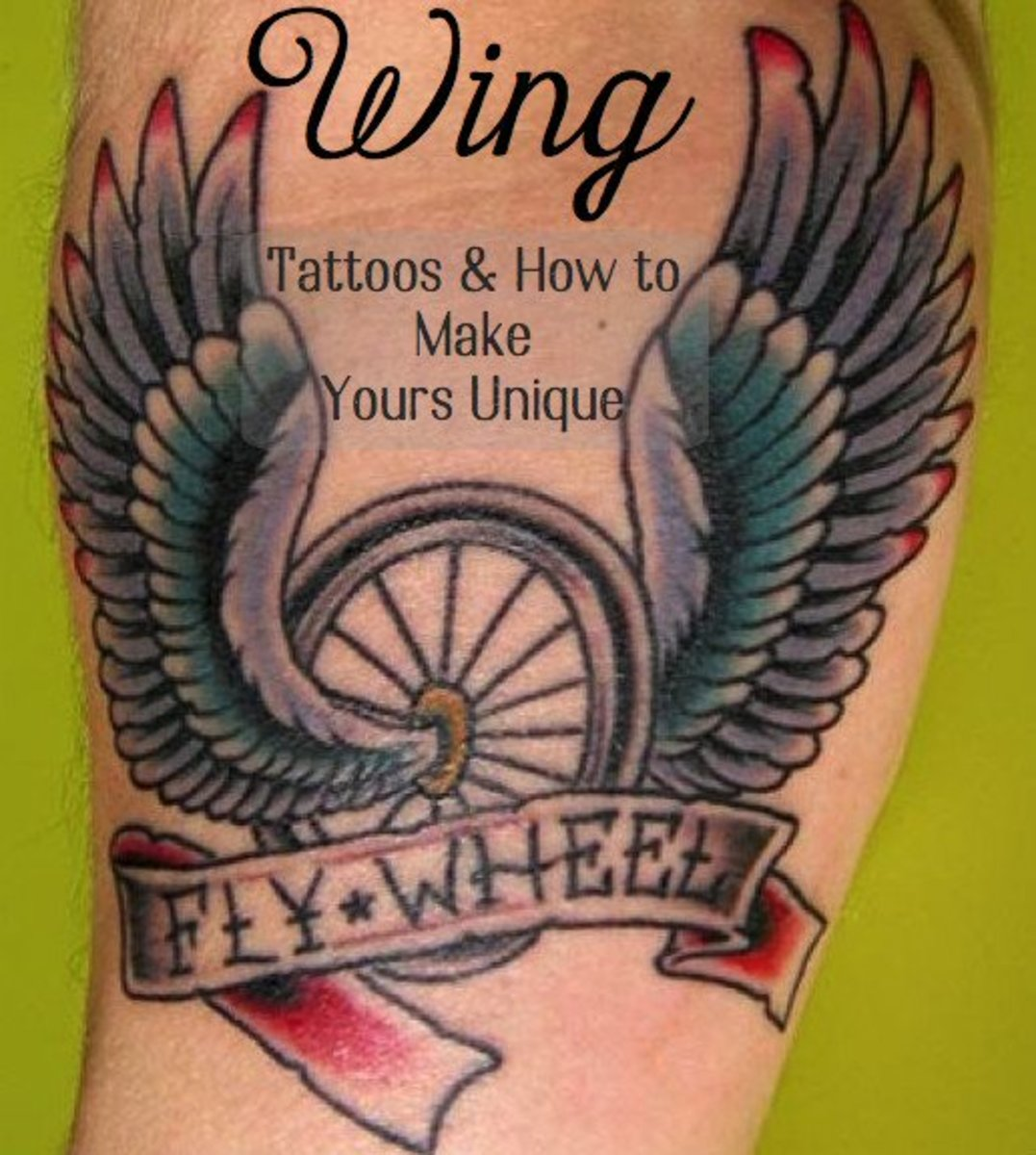 Whimsical, realistic, religious, or tribal, wings make a beautiful tattoo to represent your unique personality.