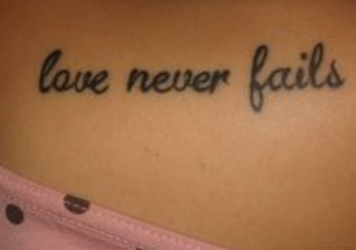 quote tattoos Love