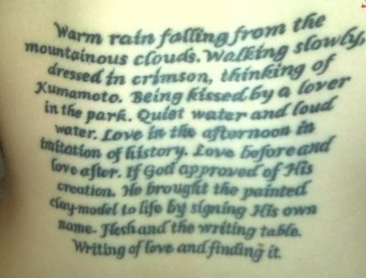 Tattoo Love Quotes Pictures
