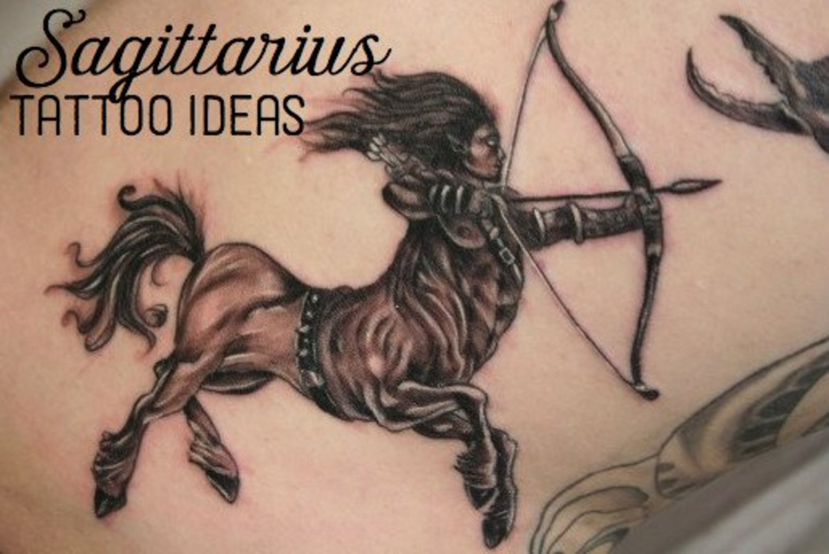 If you're a Sagittarius, consider getting a beautiful archer tattoo to show your pride!