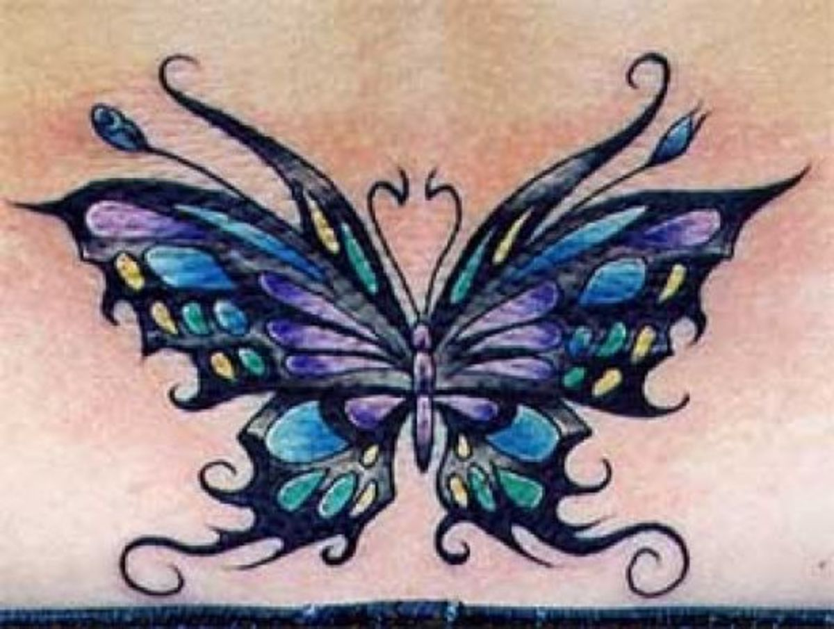 0a95080da Butterfly Tattoo Meanings and Design Ideas | TatRing