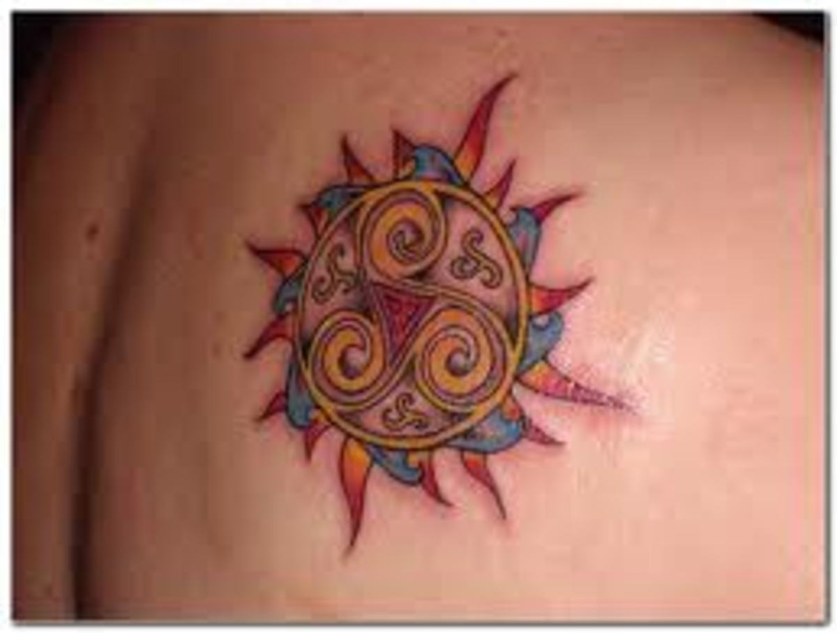 sun tattoos meanings pictures designs and ideas tatring. Black Bedroom Furniture Sets. Home Design Ideas