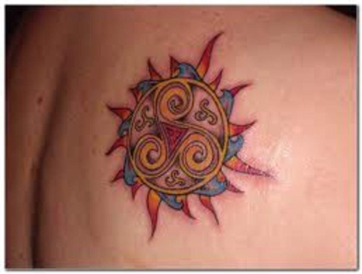 idei-dlya-tatuirovok - Солнце татуировки: значение, фото, эскизы, идеи -  - фото