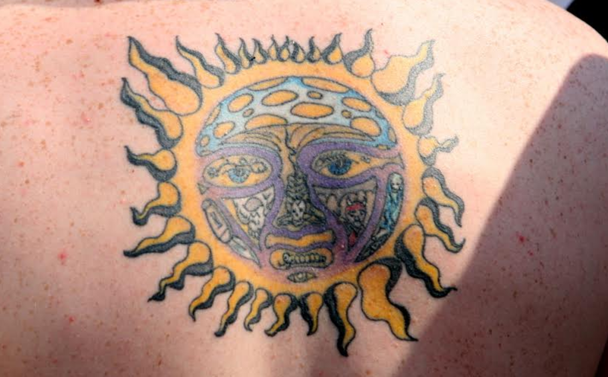 dcd367ef47910 Sun Tattoos: Meanings, Pictures, Designs, and Ideas | TatRing