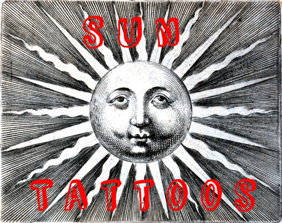 Sun Tattoos: Meanings, Pictures, Designs, and Ideas