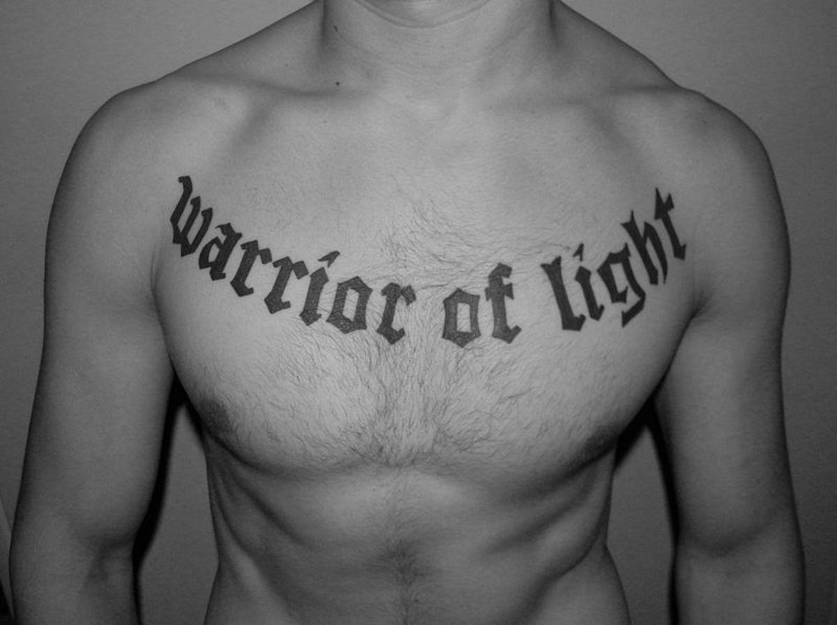 tatu-na-tele - Идеи для тату на груди -  - фото