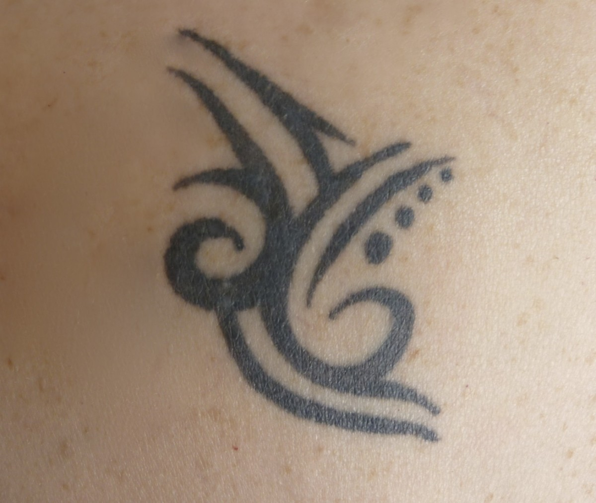 My shoulder tattoo ...