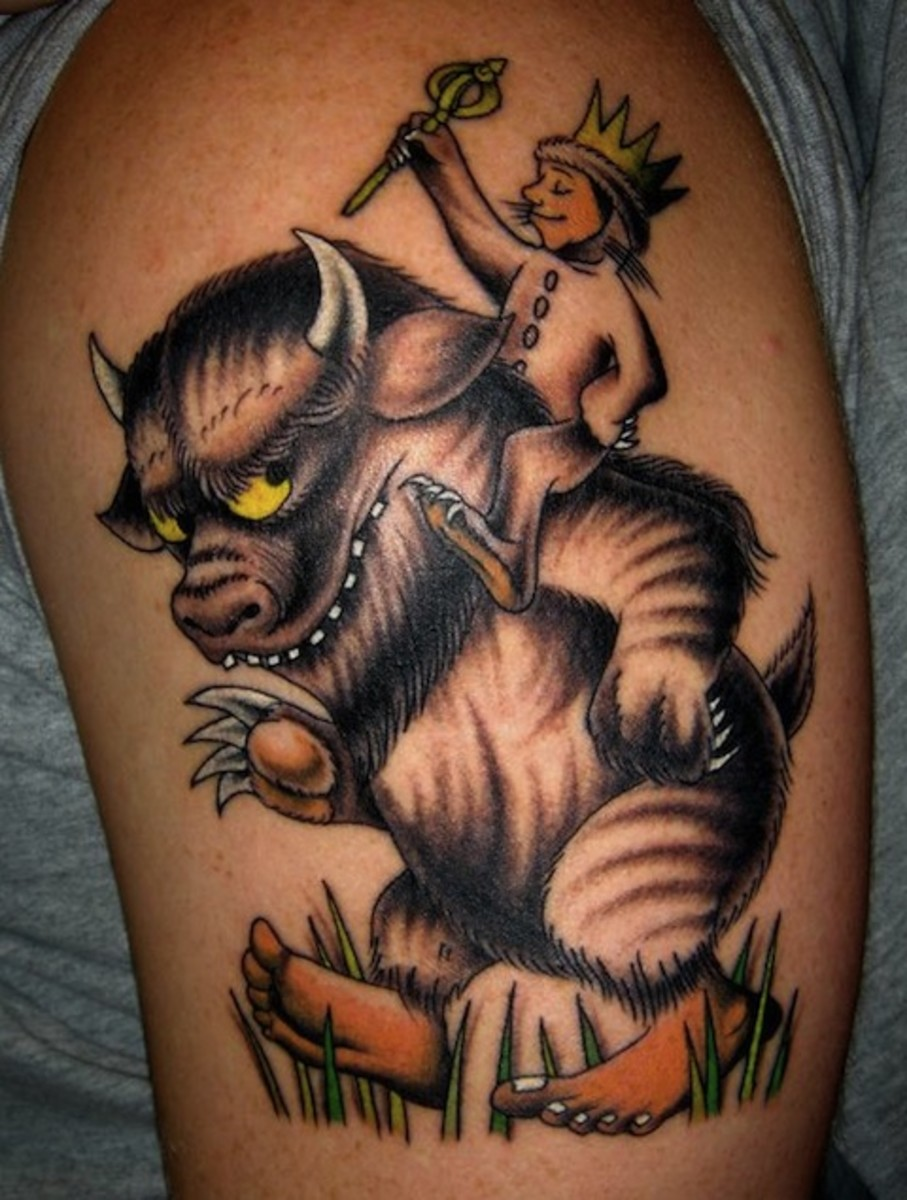 aea2af6dd8b34 But somehow I stayed relatively on topic and found some seriously cool book  tattoo ideas. Like this one.