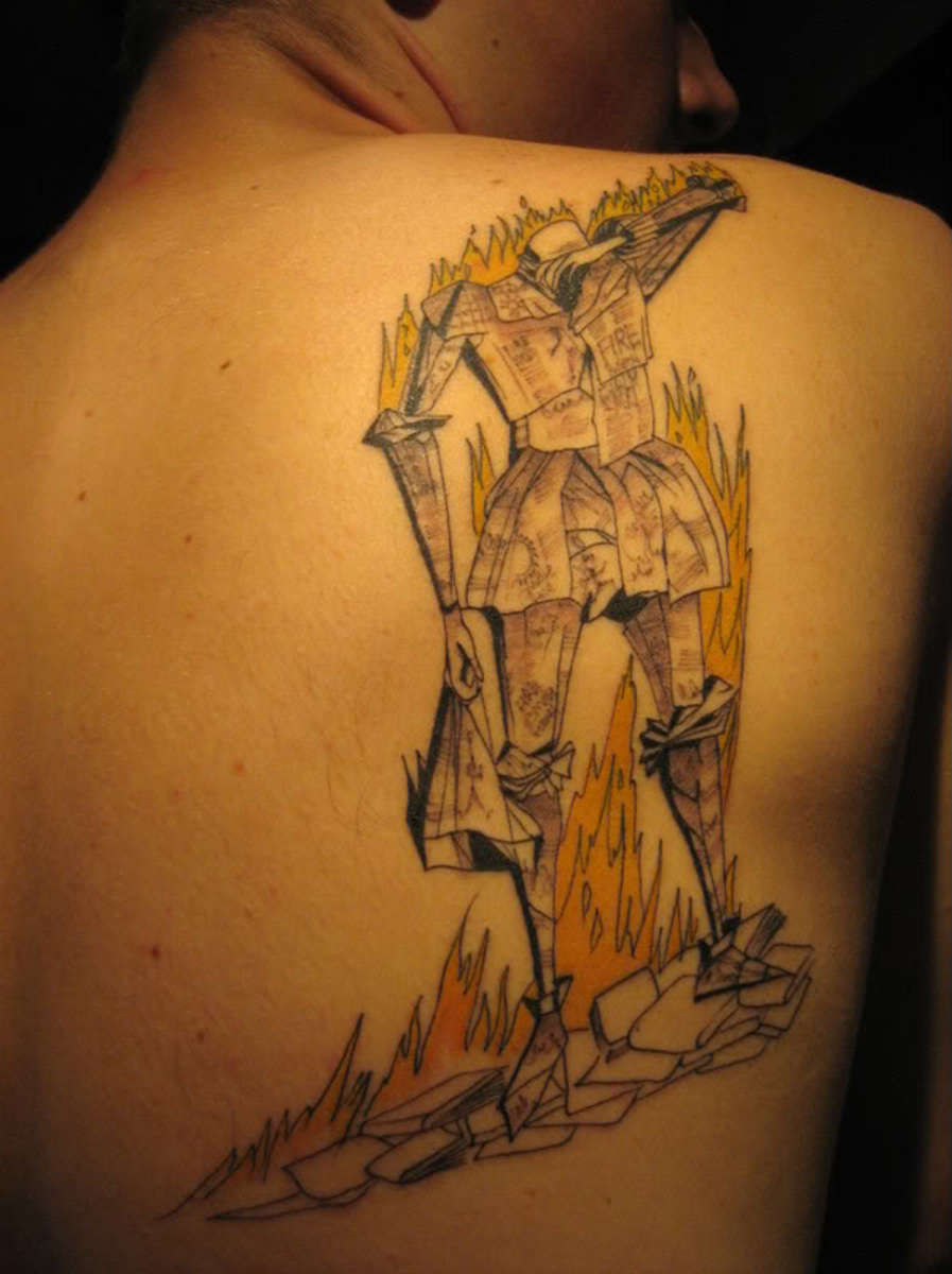 Literary tattoo ideas quotes from books for Fahrenheit 451 tattoo