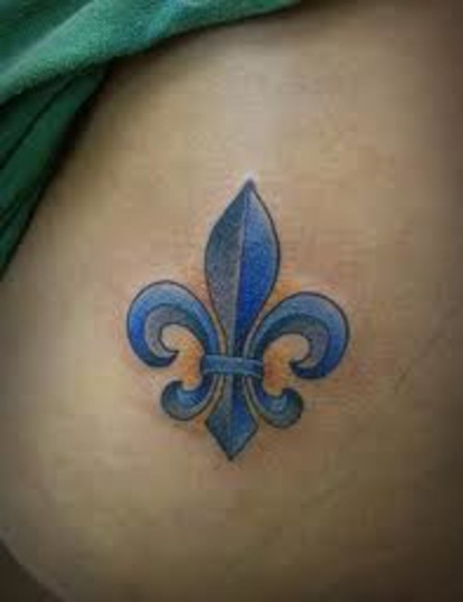Fleur De Lis Tattoo Designs And Meanings With Pictures Tatring