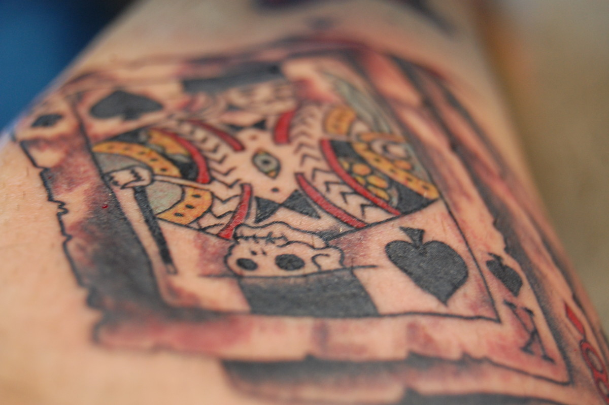 Playing Card Tattoo Designs, Meanings, Pictures, and Ideas