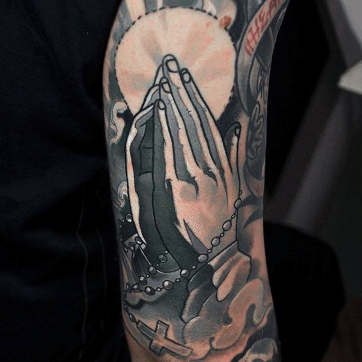 Rosary Beads Tattoo