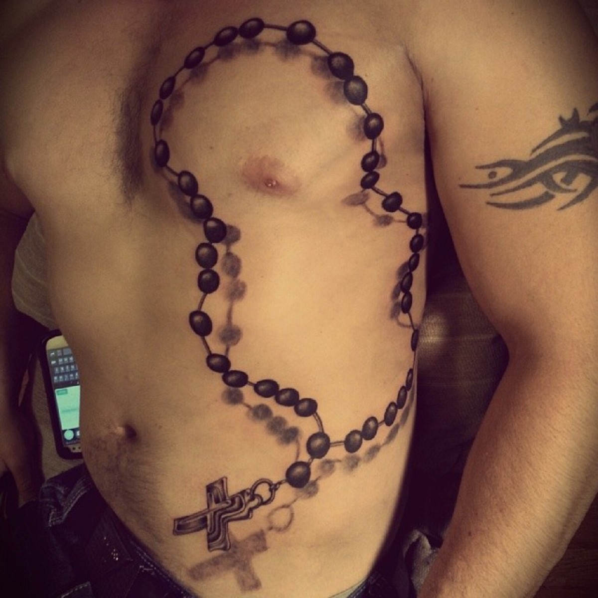 5d0b8f7ff Rosary Bead Tattoo Ideas, Designs, and Meanings | TatRing