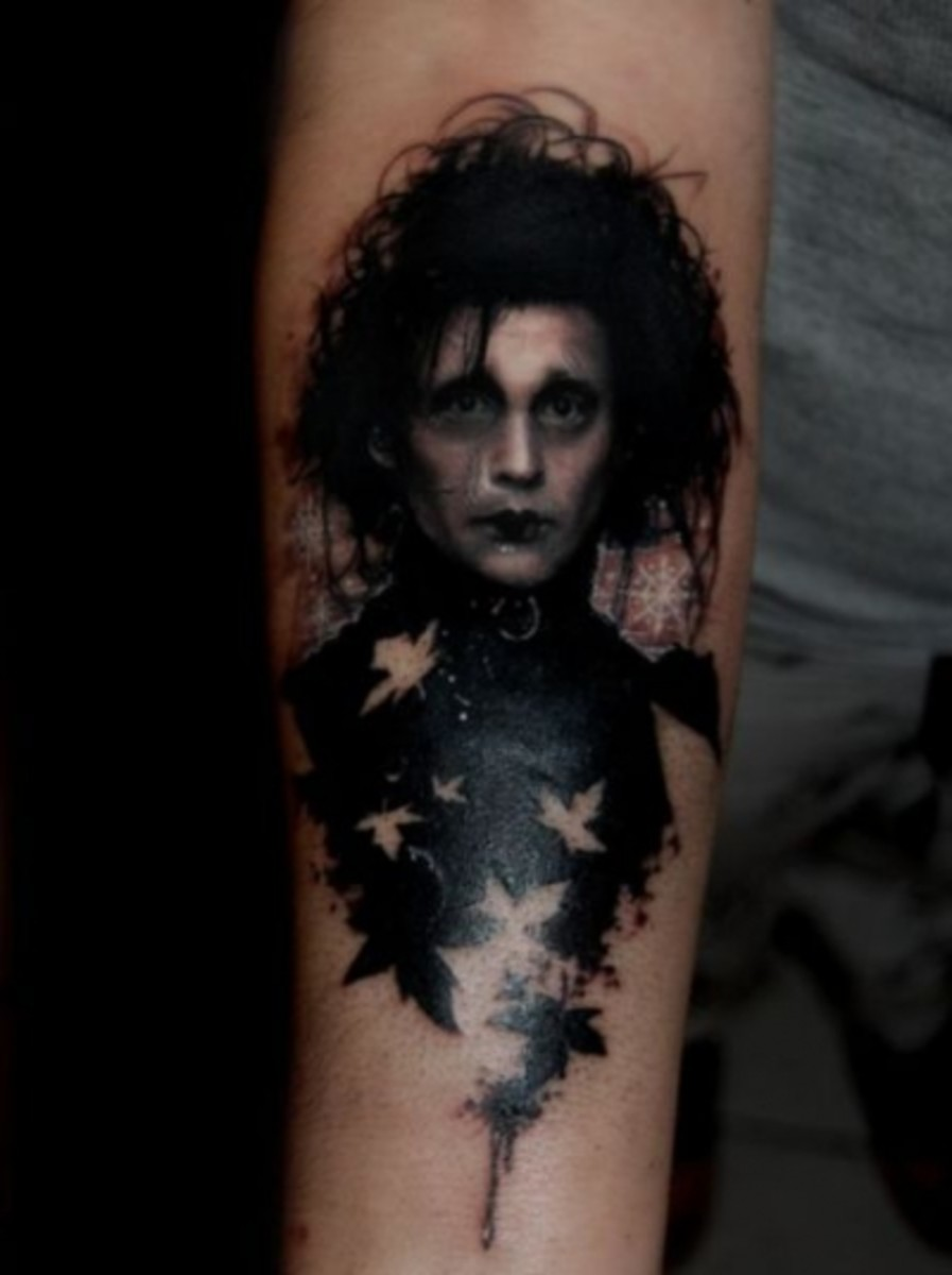 """Edward Scissorhands"""