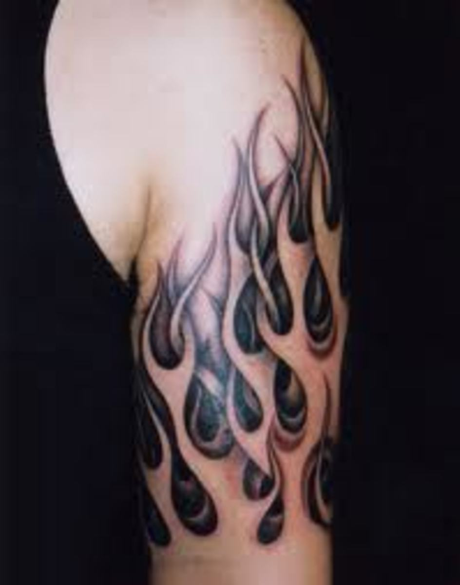 Flame And Fire Tattoo Meanings Designs And Ideas Tatring