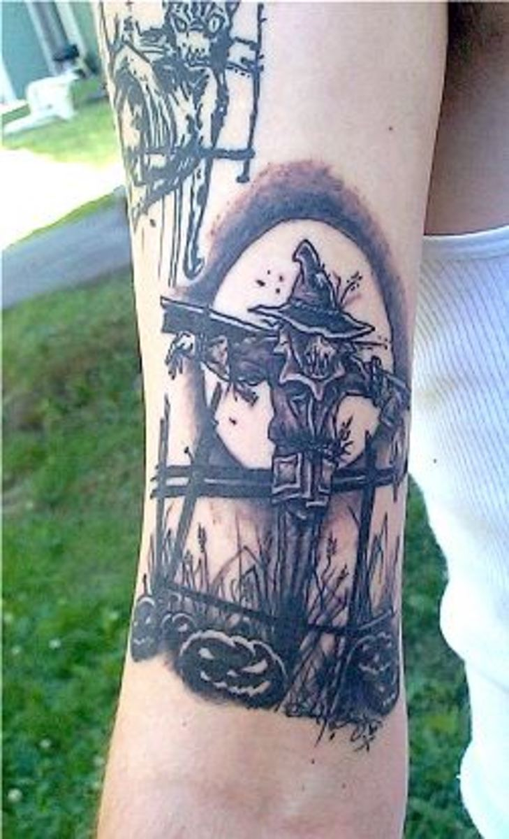 idei-dlya-tatuirovok - Пугало Татуировки -  - фото